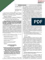 Decreto de Urgencia Que Dicta Medidas Extraordinarias Para g Decreto de Urgencia n 059 2020 1866608 1