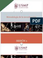 Unidad 1-Metodologia de La Investigacion Sesión 1, 2 3