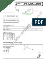 Cours Math - Trigonométrie- 1ère AS Mr Ali Akir maths-akir.midiblogs.com