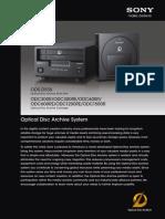 Optical Disc Archive Brochure