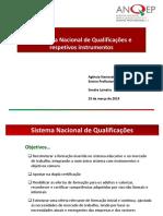 O Sistema Nacional de Qualificações e respetivos instrumentos