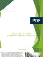 Códigos civiles de la CDMX