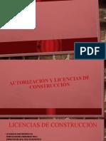 Autorización y licencias de construcción