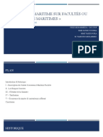 L'assurance maritime sur facultés ou les facultés maritimes