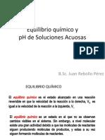 Equilibrio Quimico-pH de Soluciones