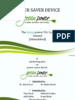 Power Saver Device Green