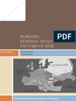 General Geology of Romania