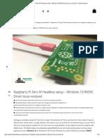 Pi-Zero-W-Windows-10-RNDIS-Driver