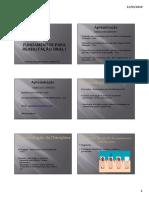 Fundamentos para reabilitação oral