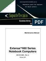 Service Manual -Acer Extensa 660sg