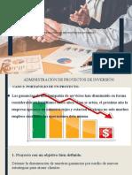 ADMINISTRACIÓN DE PROYECTOS DE INVERSIÓN