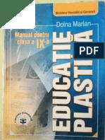 Manual Educație Plastică IX