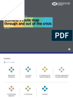 Covid 19 Framework Decision Making Scotlands Route Map Through Out Crisis