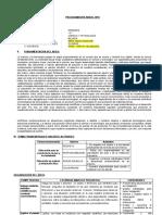 PLAN ANUAL DE 5to  GRADO  DE PRIMARIA  AREA CIENCIA Y TECNOLOGIA  SUBAREA BILOGIA