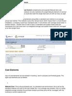 Manufacturing Cost Control Module