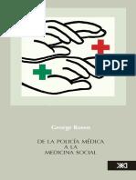1985 - Rosen George - De la polícia médica a la medicina social.pdf
