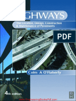 Highways The Location Design Construction and Maintenance of Road Pavements 4th Edition By Colm A O Flaherty.pdf