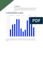 Informacion Climatologica