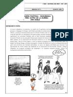 Guia- 1 HP- Situacion Política-Perú