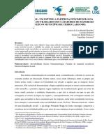 (IN) VISIBILIDADE SOCIAL - UM ESTUDO A PARTIR DA FENOMENOLOGIA SOCIAL ACERCA DO TRABALHO DOS CATADORES DE MATERIAIS RECICLÁVEIS NO MUNICÍPIO DE CERRO LARGO-RS..pdf