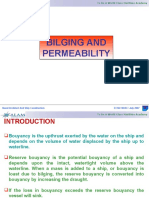 Bilging and Permeability