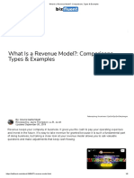 What Is a Revenue Model__ Comparisons, Types & Examples