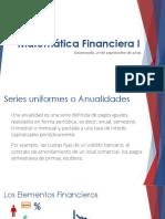 Matemática Financiera - Clase 12 28Sep19