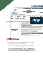 EXAMEN FINAL DE ADMINISTRACION FINANCIERA 1