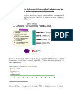 Informe del Observatorio de Género durante la pandemia - LID