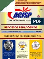 PROCESOS PEDAGÓGICOS Y COGNITIVOS