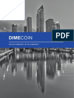 Dimecoin White Paper