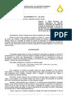 Leandro Grass pede revisão de votação - plano de saúde dos distritais