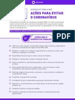 Checklist Corona Vrus - RH