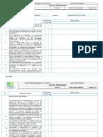 lista de verificación clinica fundación NTC 2050 1