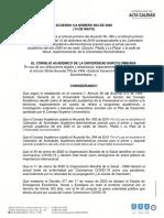 ACUERDO CA 004 DE 2020