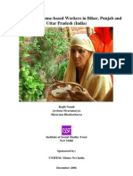 Case Studies of Home-based Workers in Bihar, Punjab and Uttar Pradesh (India)