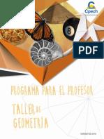TGPRO001TGE-A19V1 PROGRAMA PARA EL PROFESOR GEOMETRÍA 2019 (MARZO)