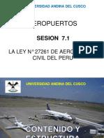 ESTRUCTURA DE LA LEY 27261