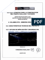 VOL. 02 MEMORIA DESCRIPTIVA II.2.7 ESTUDIO DE SEÑALIZACION Y SEGURIDAD VIAL - AGOSTO 2018  9