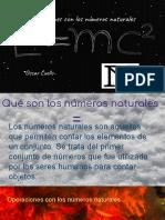 Presentación números naturales