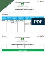 Formato de Informe de Actividades Por Tbc