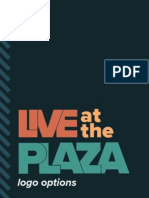 Live At The Plaza Logo Options