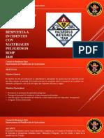 Respuesta Incidentes Materiales Peligrosos RIMP