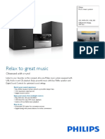 Philips Micro Music System Mcm2300 Specifications