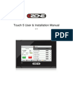 CZoneTouch5UserInstallationManualv1.1