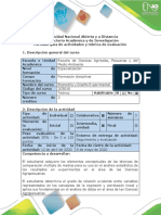 Guía de actividades y rúbrica de evaluación - Tarea 4 - Actividad Intermedia - Diseño Experimental