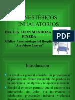 Anestesia Inhalatoria