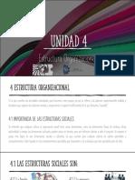 UNIDAD 4. ESTRUCTURAL ORGANIZACIONAL (1)