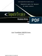 Service Manual Acer Travel Mate 240 250