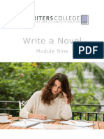 Write a Novel Module Nine Selling Your Book